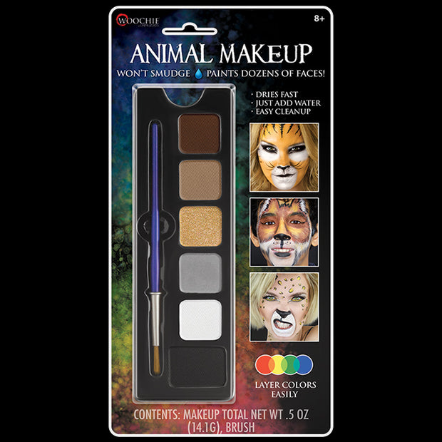 Animal 6 Color Makeup Palette