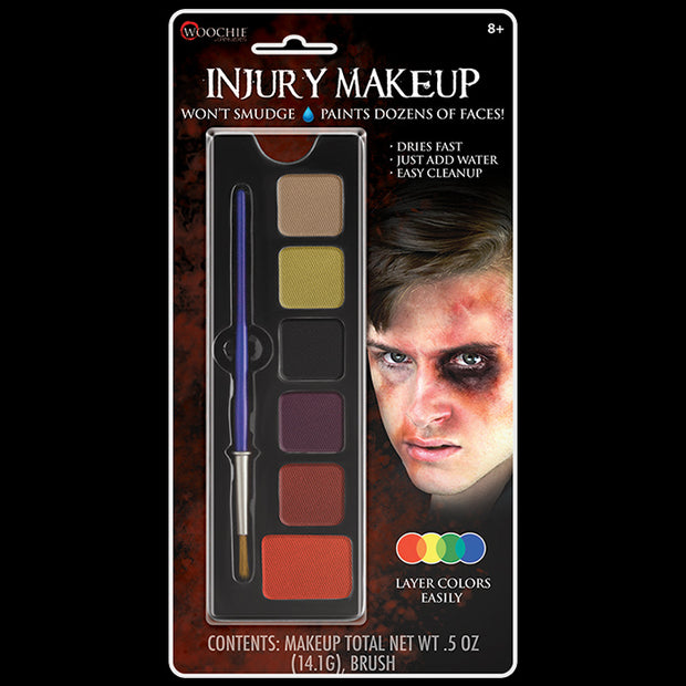 Injury 6 Color Makeup Palette