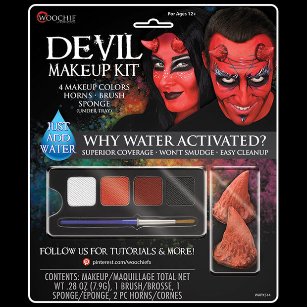 DELUXE DEVIL WATER ACTIVTED M/U KIT