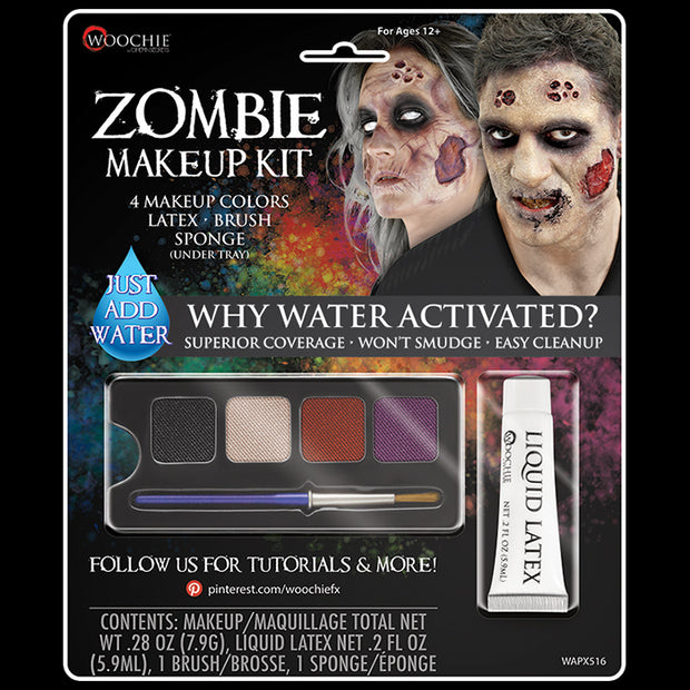 DELUXE ZOMBIE WATER ACTIVATED M/U KIT