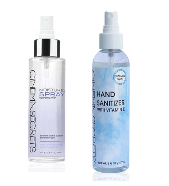 WLAS Hand Sanitizer and Moisture Spray + Hydrating Mist Combo
