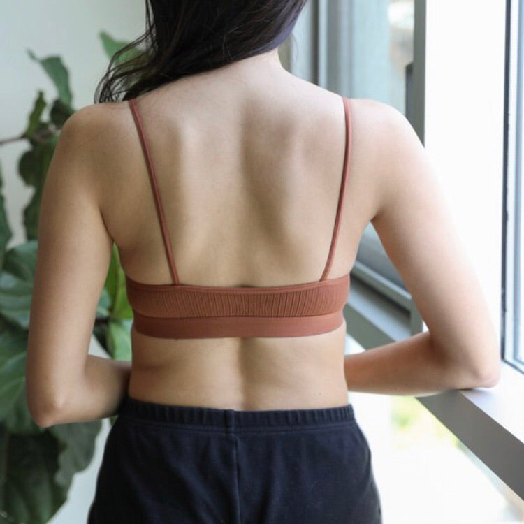 Ladder Strap Bralette - Coffee Clothing Company