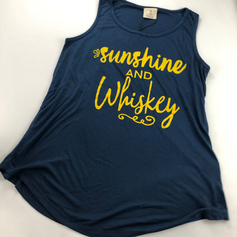 Sunshine and Whiskey Tank - Coffee Clothing Company