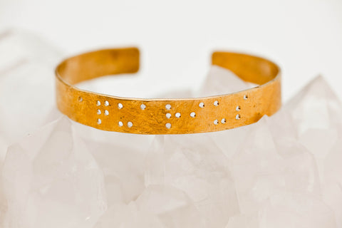 Zodiac Braille Bracelet :: Aquarius