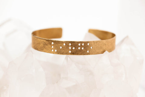Zodiac Braille Bracelet :: Virgo