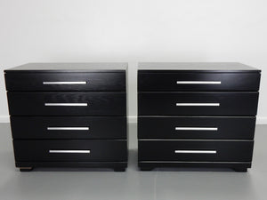 Raymond Loewy Pair of Oak Chests for Mengel