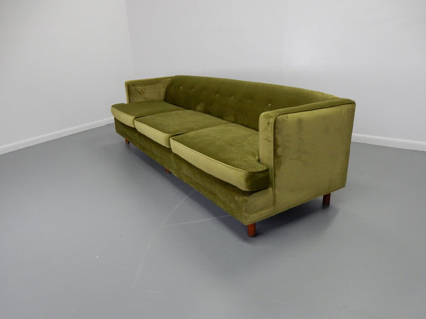 Tuxedo Sofa in the Style of Edward Wormley