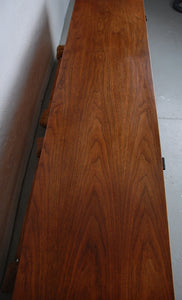 Knoll Early Walnut Wall Hanging Cabinet