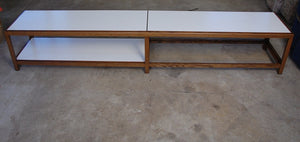 Edward Wormley for Dunbar Ash and Formica Inset Coffee Table