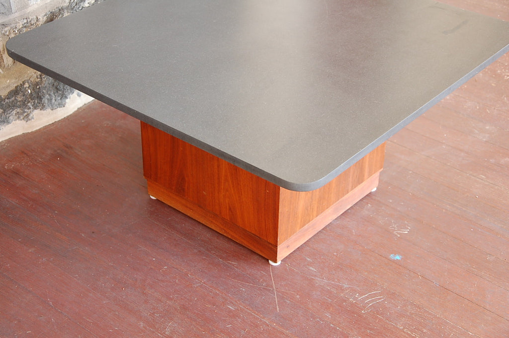 ... Slate And Walnut Coffee/Cocktail Table By Fred Kemp