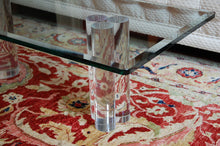 Load image into Gallery viewer, Karl Springer / Hollis Jones Style Lucite Column Coffee Table