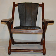 Load image into Gallery viewer, Don Shoemaker Rosewood Sling Swinger Chair for Senal