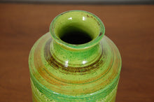 Load image into Gallery viewer, Aldo Londi for Bitossi Rare Green Hued Vase