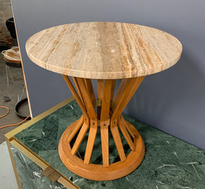 Dunbar Sheaf of Wheat Side Table by Edward Wormley Mid Century