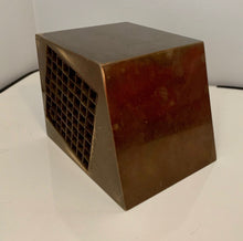 Load image into Gallery viewer, Aiko Miyawaki Brass Puzzle, Sculpture Desk Accessory Midcentury