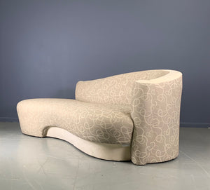 Sculptural Cloud Sofa a Pair by Weiman in the Style of Vladimir Kagan
