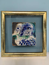 Load image into Gallery viewer, Ceramic Framed Tiles in the Style of Picasso by the Atelier Espinoza Brugos