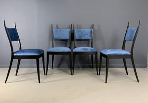 "Harvey Probber 1048 ""Gazelle"" Mid-Century Set of Six Dining Chairs"
