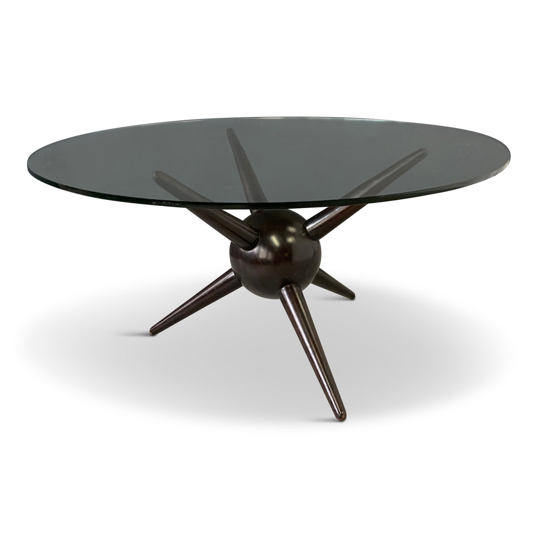 Gio Ponti Attributed Spike Cocktail Table Midcentury Design