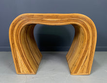 Load image into Gallery viewer, Pencil Reed Modern Side Tables The Style of Gabriella Crespi Mid Century