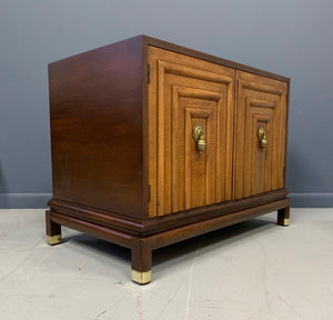 Renzo Rutili Two-Door Cabinet for Johnson Furniture Mid-Century Modern