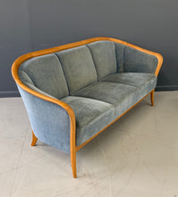 Load image into Gallery viewer, Danish Mid-Century Birch Compact Sofa