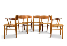 Load image into Gallery viewer, Børge Mogensen Dining Chairs by Søborg Møbelfabrik in Denmark Midcentury