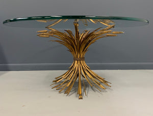 Sheaf of Wheat Cocktail Table Mid-Century