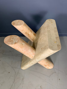 Maitland Smith Tessellated Occasional Table Postmodern
