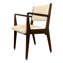 Load image into Gallery viewer, Jens Risom Walnut Armchair from 1950s