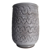 Load image into Gallery viewer, Design Technics Incised Pottery Vase