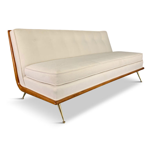T.H. Robsjohn-Gibbings Sofa, for Widdicomb Model 1727 circa 1956 Mid-century