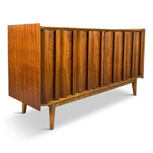 Load image into Gallery viewer, Lane Petite Credenza in Walnut Mid-century