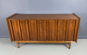 Lane Petite Credenza in Walnut Mid-century