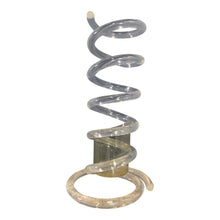 Load image into Gallery viewer, Coiled Lucite Umbrella Stand by Dorothy Thorpe Midcentury