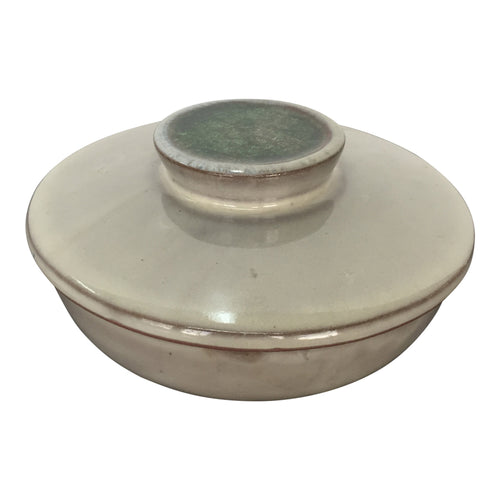 DESIGN TECHNICS Terracotta Pottery Lidded Box