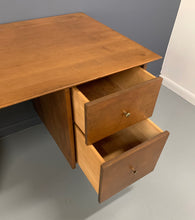 Load image into Gallery viewer, Double Pedestal Planner Group Desk by Paul McCobb