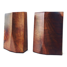 Load image into Gallery viewer, Rude Osolnik Freeform Walnut Bookends