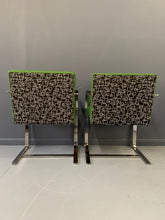 Load image into Gallery viewer, Brno Armchair Pair with Chrome Frame, Knoll A Mid Century Masterpiece