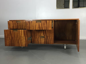 Vladimir Kagan Console in Koa wood USA, c. 1970′s