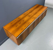 Load image into Gallery viewer, Bruskbo Danish Modern Rosewood Record Cabinet Mid Century