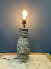 Load image into Gallery viewer, Design Technics Geolayered Ceramic Table Lamp, C. 1960