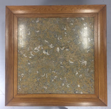 Load image into Gallery viewer, Tomlinson Marble and Pecan Mid Century Coffee Table
