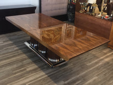 "Load image into Gallery viewer, Brueton ""Athens"" Collection Dining or Conference Table In Exotic Mentose Wood"