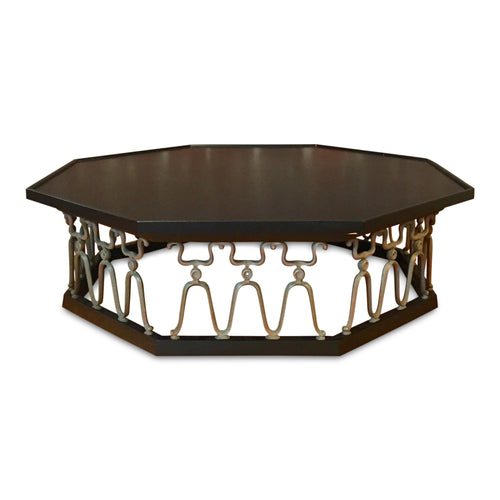 Casa Del Sol Coffee Table by John Van Koert for Drexel Ebonized Mid Century
