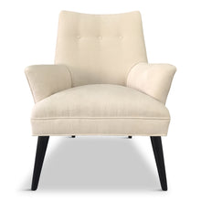 Load image into Gallery viewer, Mid Century Lounge Chair in The Style of Gio Ponti in Textured Velvet