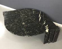 Load image into Gallery viewer, Marble Black and White Cocktail Table Made in Italy Midcentury