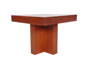 Matching Pair of Mid-Century Modern Walnut End or Side Tables by Milo Baughman