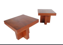 Load image into Gallery viewer, Matching Pair of Mid-Century Modern Walnut End or Side Tables by Milo Baughman
