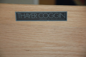 Milo Baughman for Thayer Coggin Rosewood Double Dresser